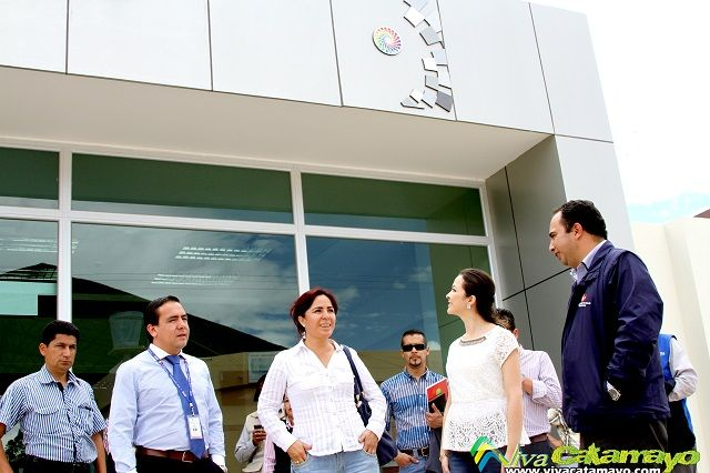 Gobernadora de Loja, recorre obras emblemáticas en Catamayo