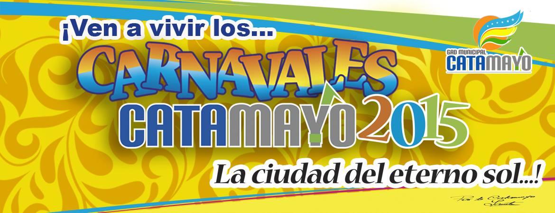 Programa Carnavales 2015 en Catamayo