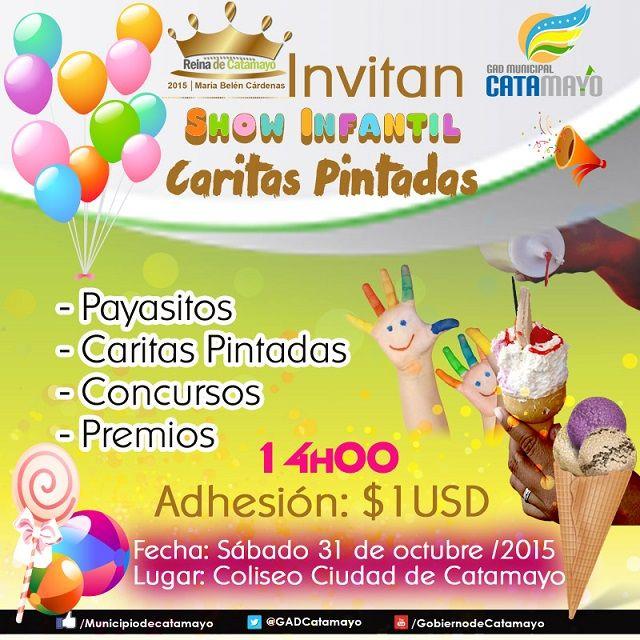 Show Infantil Caritas Pintadas