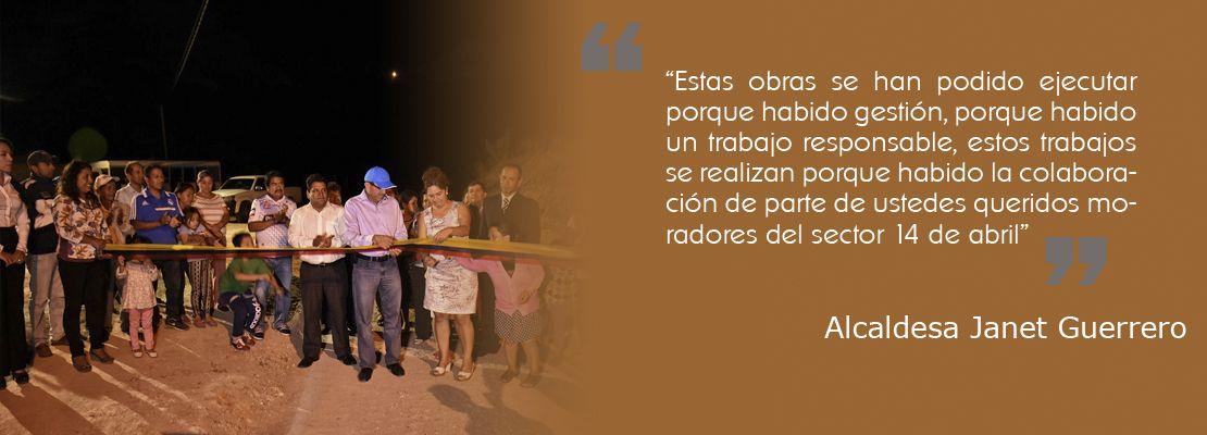 Recorrido y agradecimiento vía La Chivera - Chaquircuña