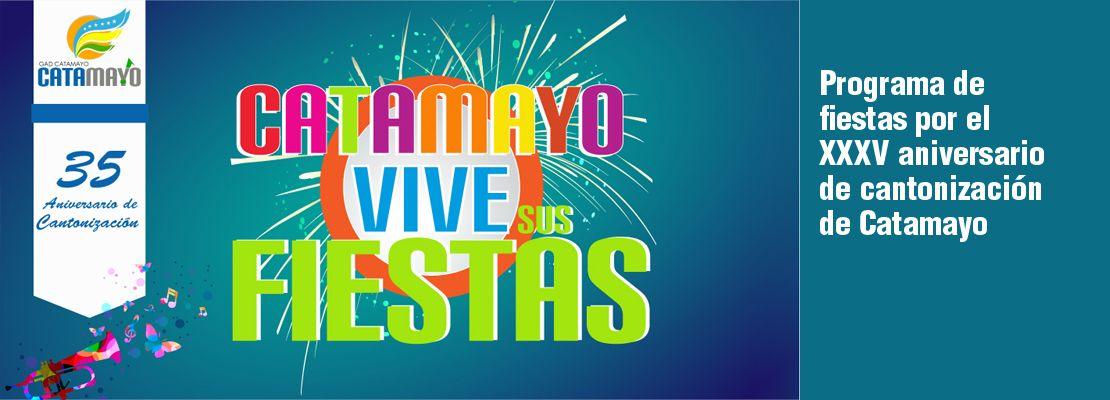 Catamayo conmemoró XXXV años de cantonización