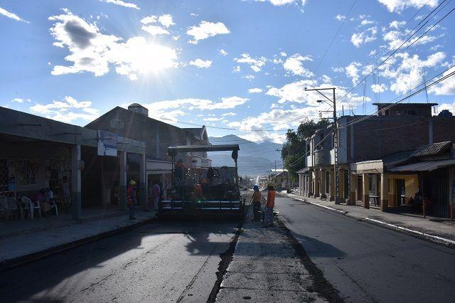 Asfaltado calles Nueva Esperanza 1