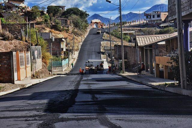 Asfaltado calles Nueva Esperanza 2