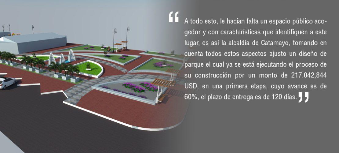 El sueño de tener un parque se hace realidad para el barrio la Vega