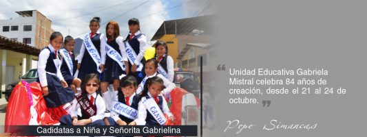 Unidad Educativa Gabriela Mistral celebra 84 años de creación