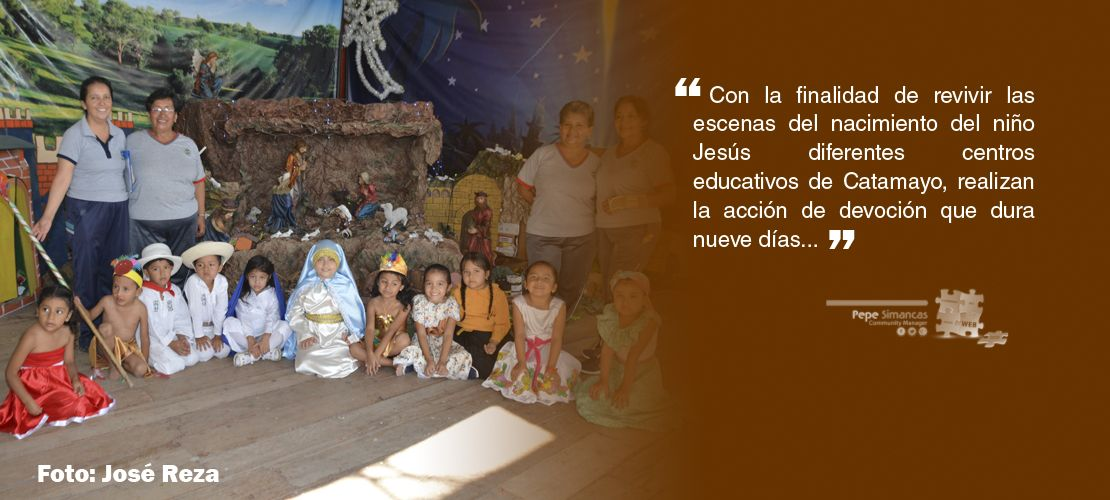 Espíritu Navideño se vive en centros educativos