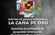 """XXI Festival de música folklórica """"La Caña de Oro"""""""