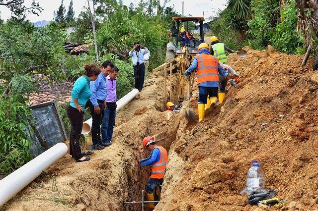 En la parroquia de Tambo se invierte 396.732,63 USD en obras de infraestructura básica
