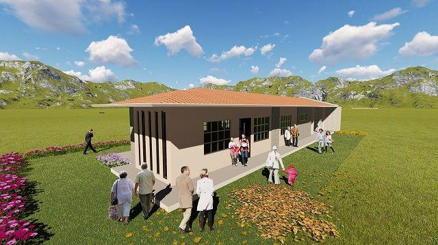 Socialización del diseño arquitectónico de la Casa comunal para el barrio La Merced (parroquia urbana San José)