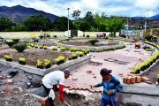 En Catamayo se construye el parque