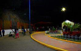 Alcaldesa de Catamayo inauguró un nuevo parque y terminación de casa comunal en el barrio la Extensa