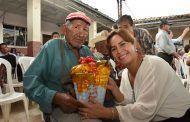 Autoridades de Catamayo celebraron la navidad junto a beneficiarios de proyectos sociales
