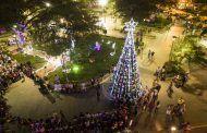 Catamayo inicia sus festividades navideñas con el encendido de su árbol