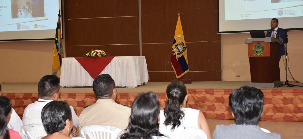 Dirección Distrital 11D02 Salud rindió cuentas a la ciudadanía