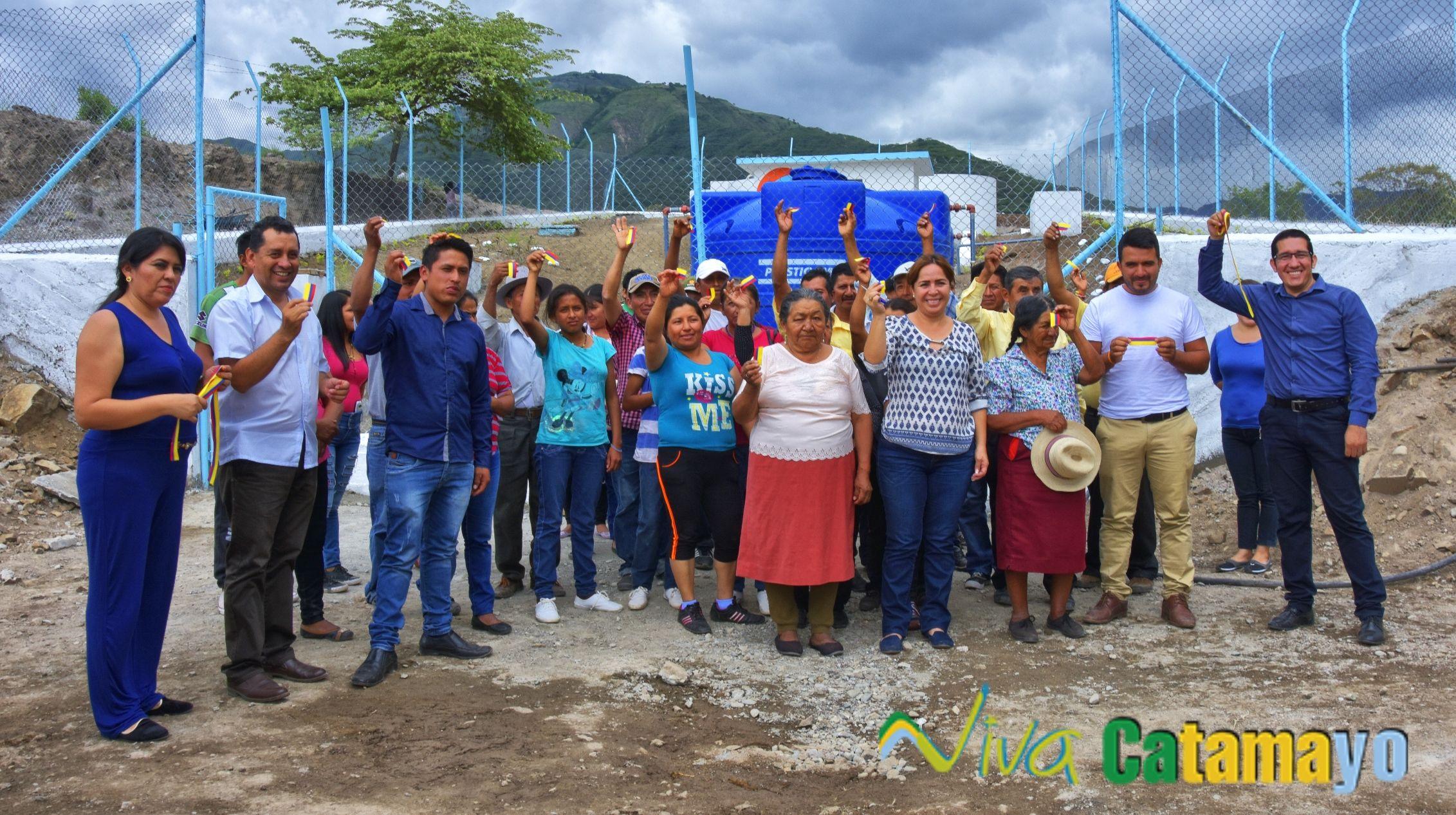 Tres barrios de la parroquia el Tambo cuentan con Agua Potable