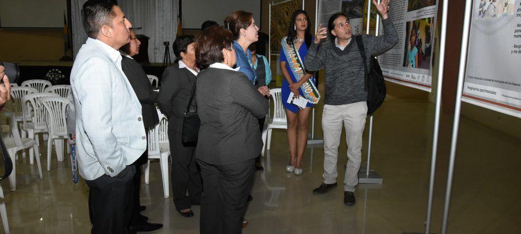 Muestra de Patrimonio Rupestre y creación artística se exhibe en Catamayo