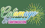 Programa de actividades artístico, culturales, turísticas, religiosas, deportivas y recreativas por celebrarse el XXXVII Aniversario de emancipación política de nuestro cantón Catamayo