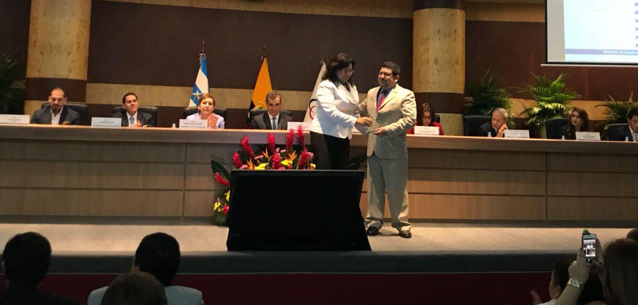 Max Alejandro Tandazo Encalada, fue reconocido de entre 63 evaluados