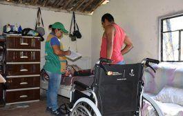 Personas con discapacidad se benefician de entrega de ayudas técnicas