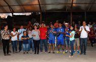 Cancha de liga barrial de Catamayo cuenta con graderío y mini cubierta