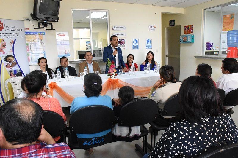 Centro de Salud de Chaguarpamba recibió equipo médico y odontológico