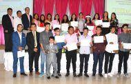 """Clausura del programa de formación en Liderazgo y valores, denominado """"Agentes de cambio"""""""