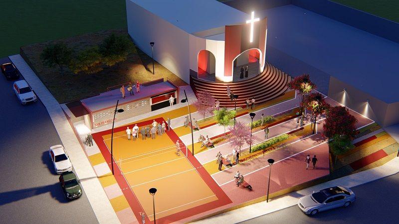 Socialización del diseño para el parque San Francisco