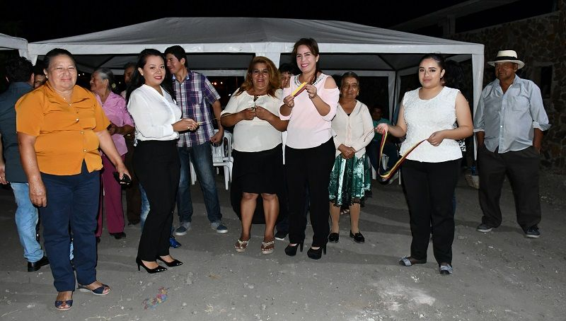 Inauguración de servicios básicos para sector Las Américas, parroquia urbana San José