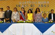 La parroquia Guayquichuma celebró 61 años de vida política
