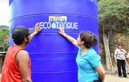 Tanque de reserva de 10000 litros fue entregado a los habitantes del barrio Sobrinopamba