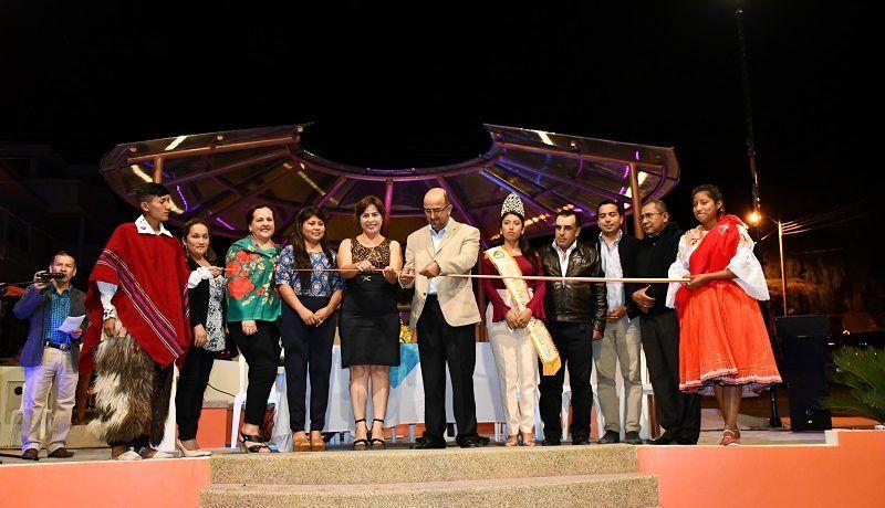 Inauguración del Parque Triangular en San Pedro de la Bendita