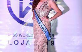 La calvense Jaidy Saavedra, fue electa como Miss World Loja 2019