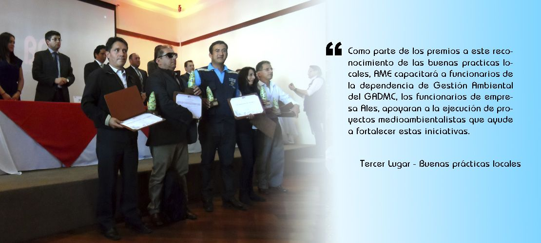 Catamayo obtuvo el tercer lugar en concursos de Buenas prácticas locales