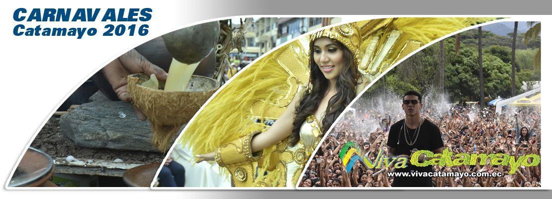 Carnavales Catamayo 2016, fiestas reconocidas