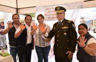 Feria de seguridad ciudadana: por la eliminación de la violencia contra la mujer
