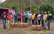 28 familias del barrio Chaquircuña producirán Tilapia