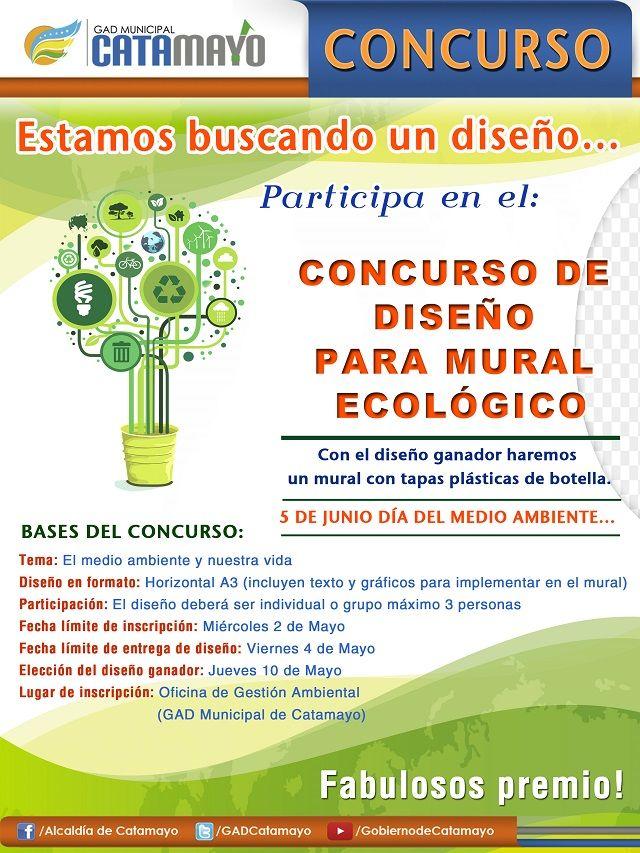 Concurso Diseño de Murales Ecológicos