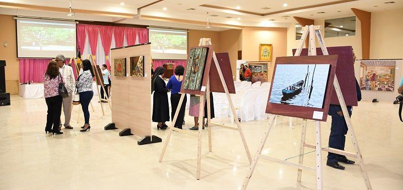 Desde el 11 al 14 de junio se exponen las obras de pintura y fotografías de los artistas Pablo Alvear y Roberto González, denominado Dimensiones áureas, en Catamayo.