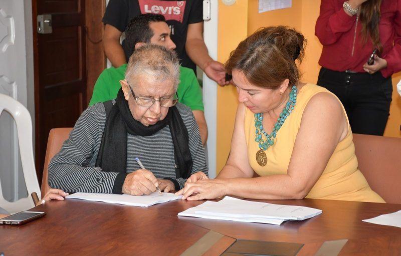 Escritura Pública está minuta de donación del Museo de Arte contemporánea Manuel Serrano