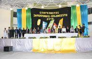 Inauguración del XV campeonato de Interjorgas Manuel Ramírez Paz y el II campeonato de baloncesto ciudad del eterno sol