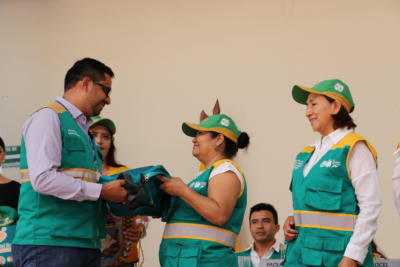 Olmedo y Chaguarpamaba se sumaron a la estrategia Médico del Barrio