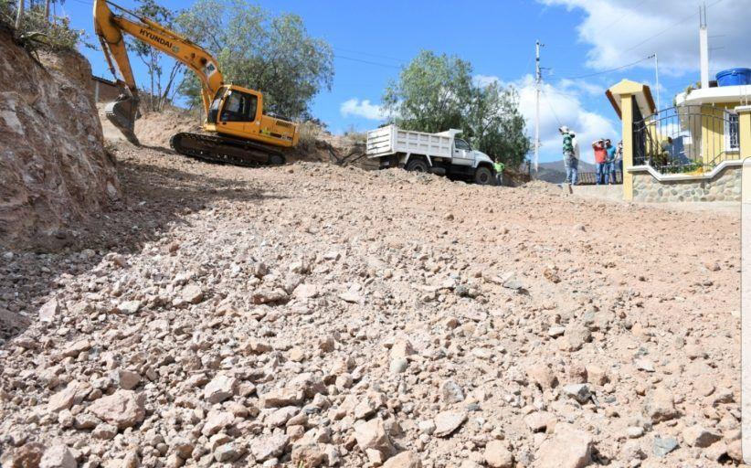 Regeneración de la vía de acceso principal al barrio San Antonio