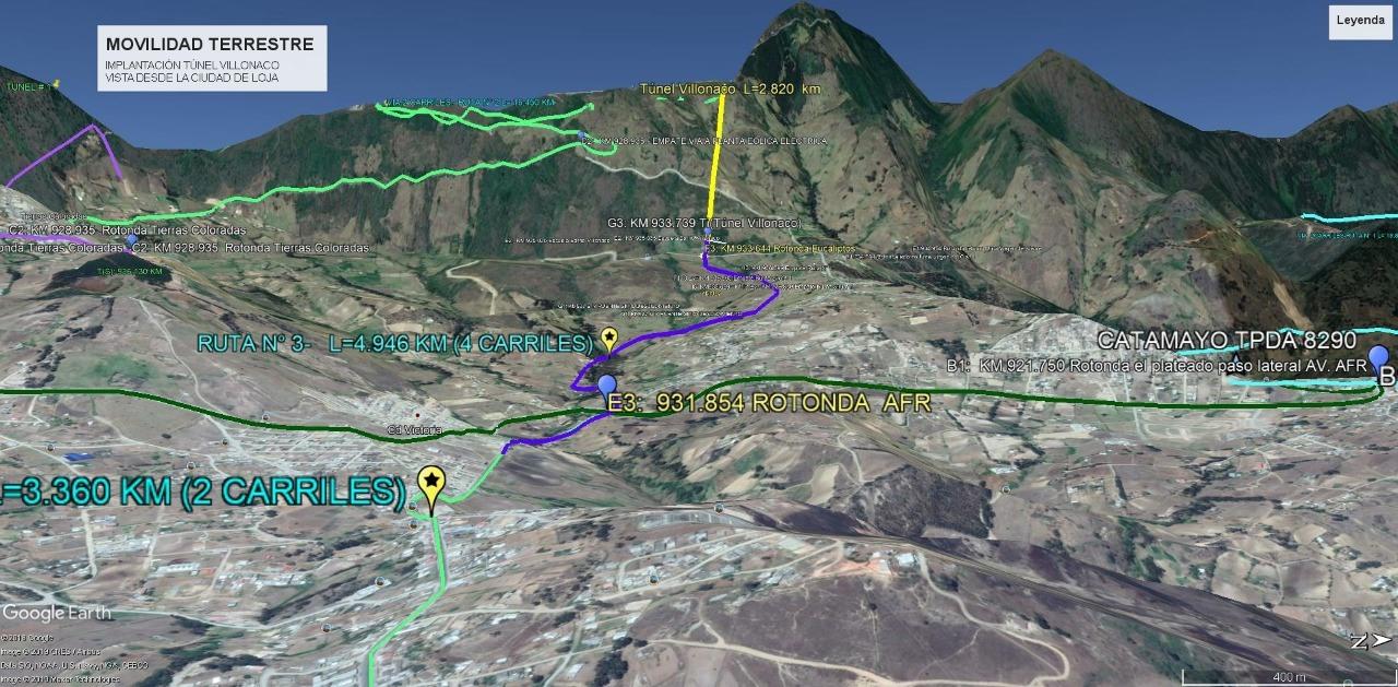 Via 4 carriles Catamayo - Loja - opiniones (1)