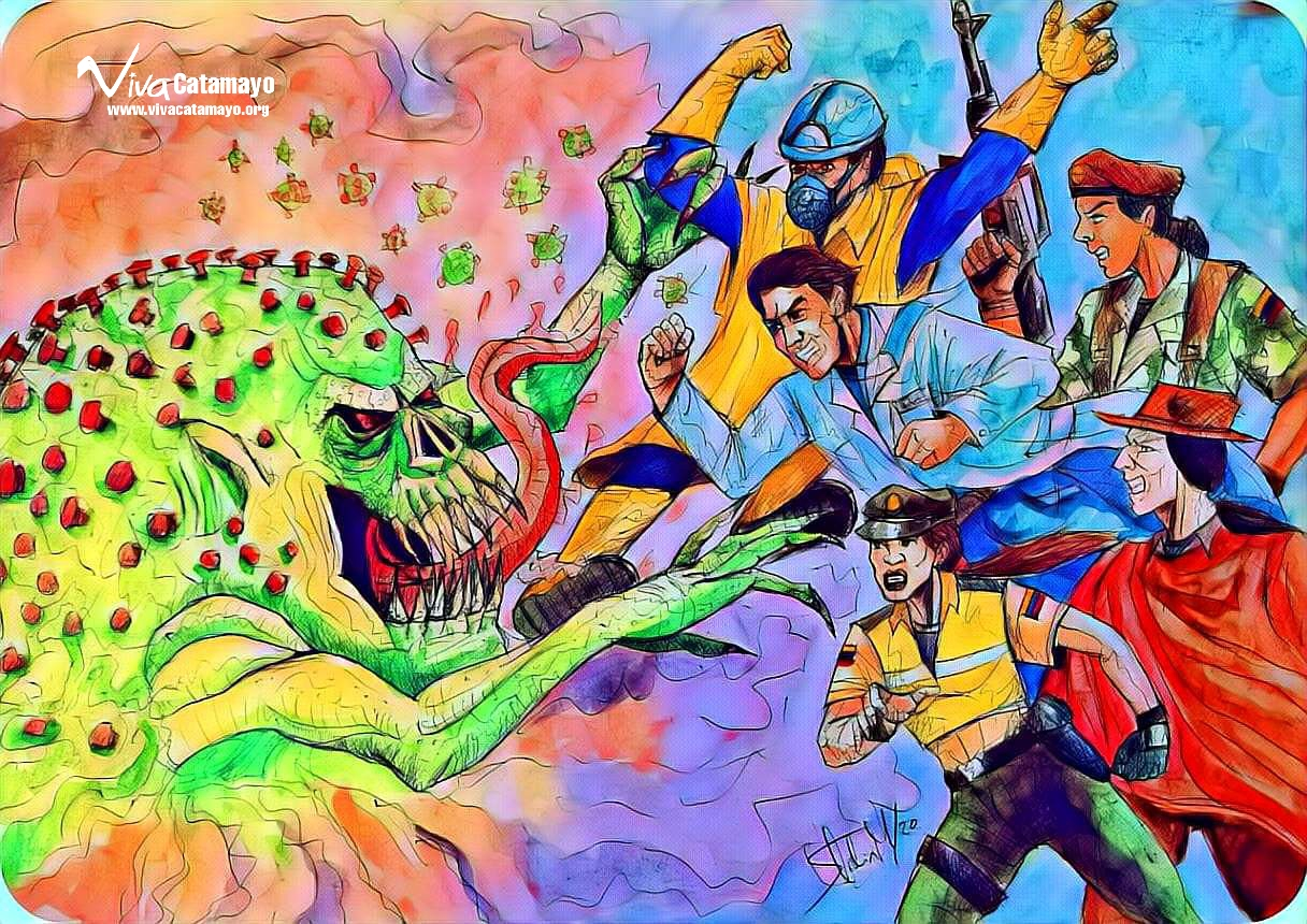 La Batalla contra el coronavirus.
